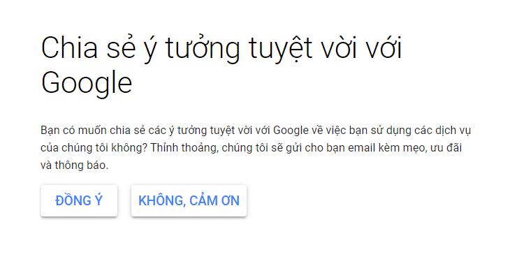 Tạo email tên miền với Google 4