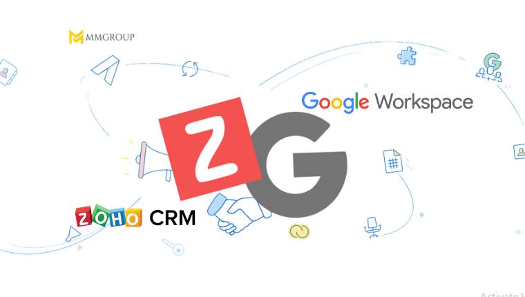 Zoho CRM với Google Workspace