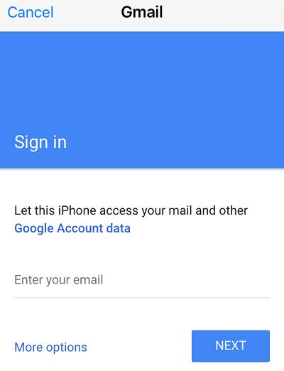 Đồng bộ hóa Gmail