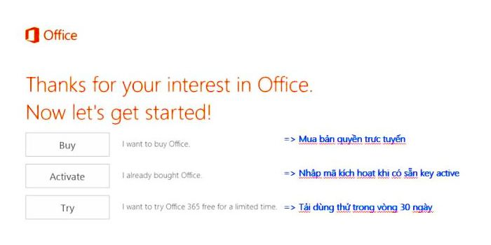 Cài Office 365