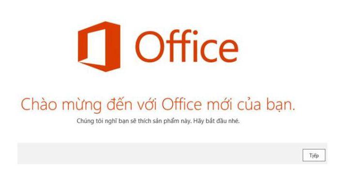Cài đạt Office 365