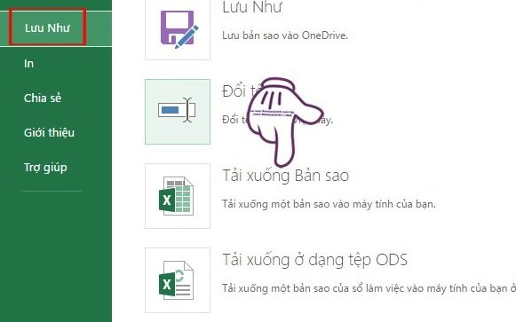Sử dụng Excel